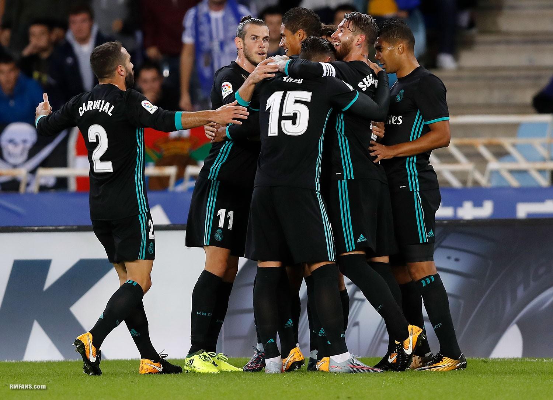 组图 西甲第4轮 皇家社会1-3皇家马德里