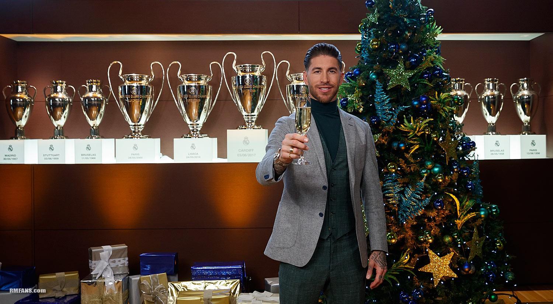 """组图 来自皇马主席、教练和队长们的圣诞祝福"""""""