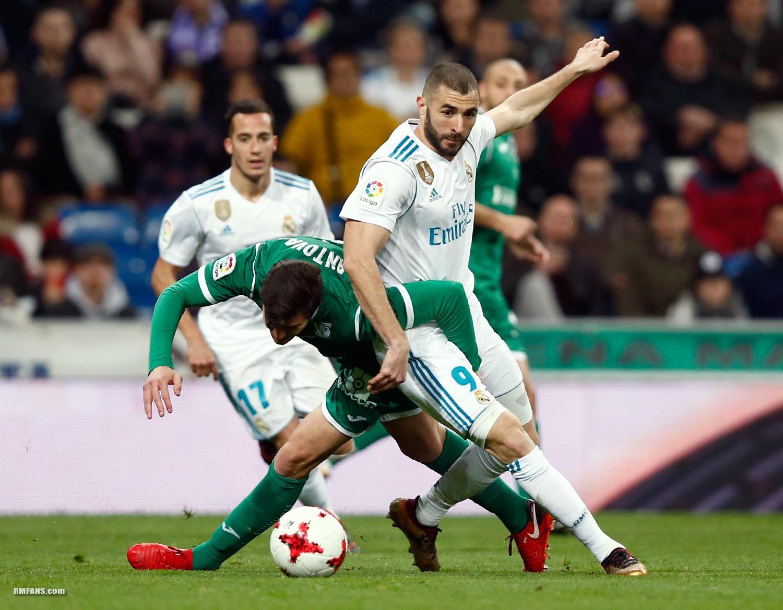 """组图 国王杯 皇家马德里1-2莱加内斯"""""""