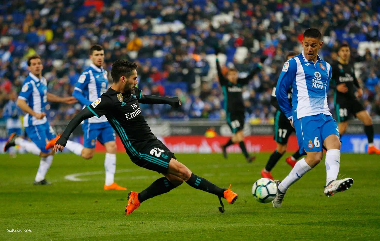 """西班牙人1-0皇马,又见绝杀..."""""""