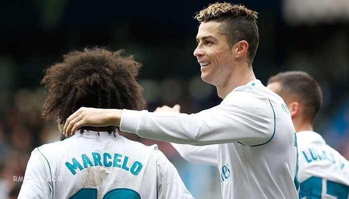 "C罗成为西班牙联赛里在各项赛事进球最多的球员"""