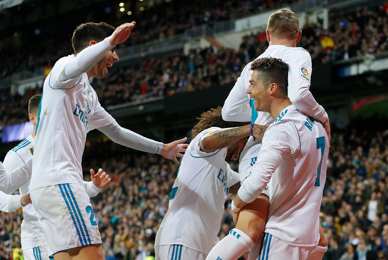 组图 西甲第29轮 皇家马德里6-3赫罗纳