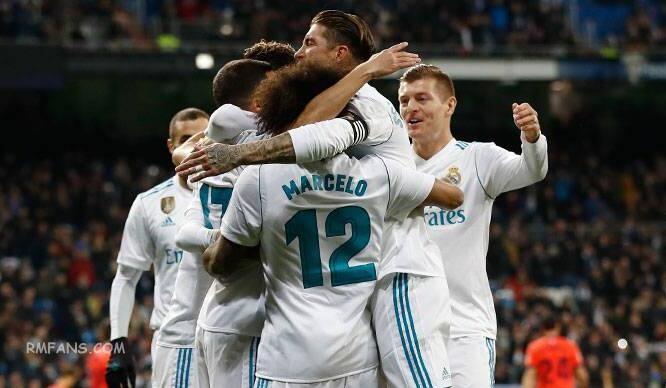 """皇家马德里在西甲联赛下半程主场全胜"""""""