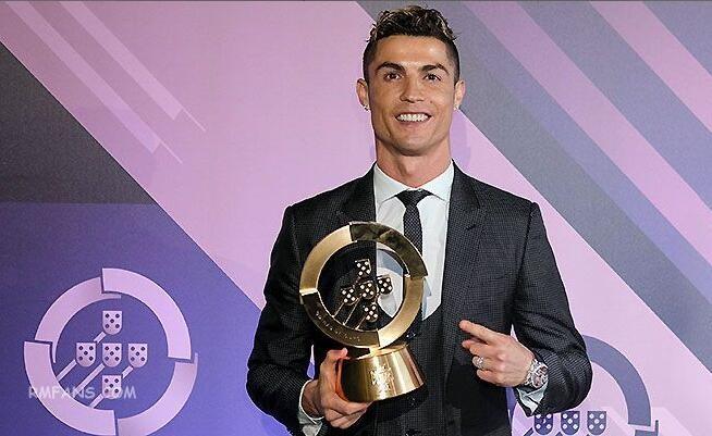 C罗收获葡萄牙2017年最佳运动员奖