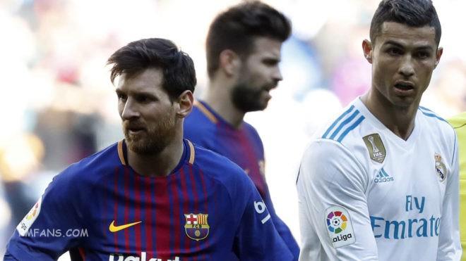 """巴萨vs皇马,西班牙之王对世界之王"""""""