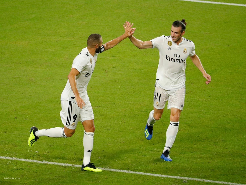 """组图 国际冠军杯 曼联2-1皇家马德里"""""""