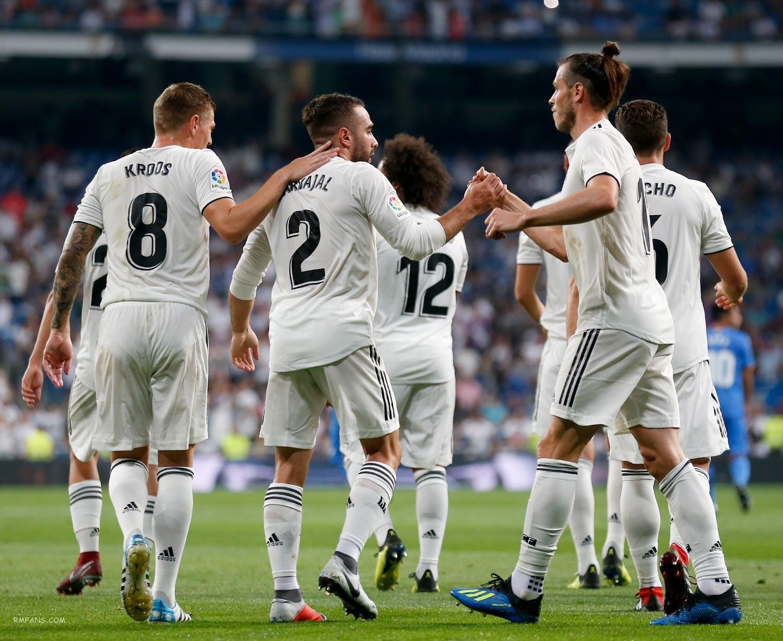 组图 西甲第一轮 皇家马德里2-0赫塔费