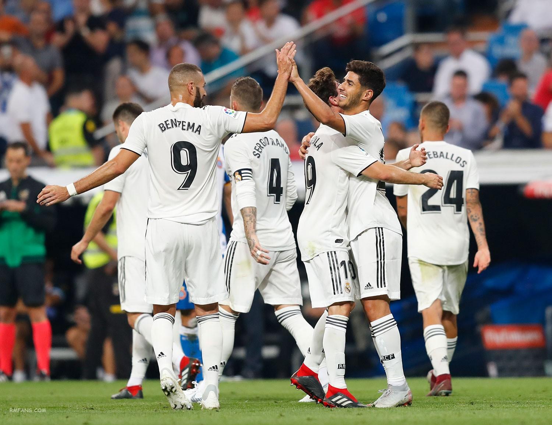 组图 西甲第五轮 皇家马德里1-0西班牙人