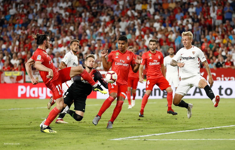 """组图 西甲第六轮 塞维利亚3-0皇家马德里"""""""