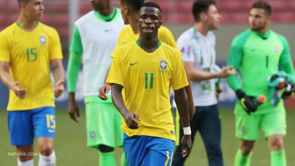 巴西确认维尼修斯不会参加U20南美杯