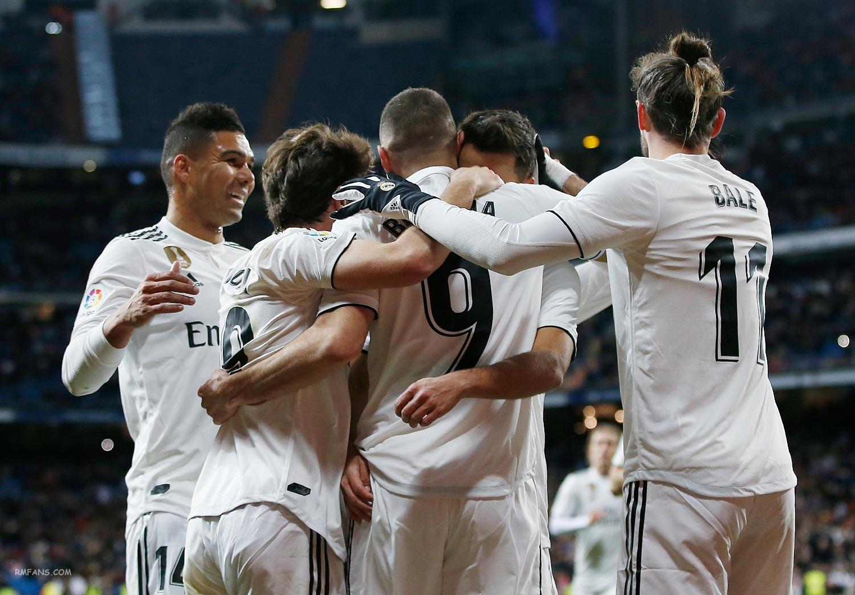 """组图 西甲第22轮 皇家马德里3-0阿拉维斯"""""""