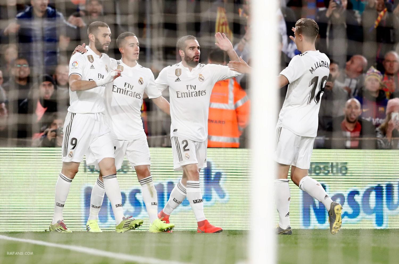 """组图 国王杯 巴塞罗那1-1皇家马德里"""""""