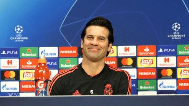 索拉里:我希望皇马像三天前那样踢球