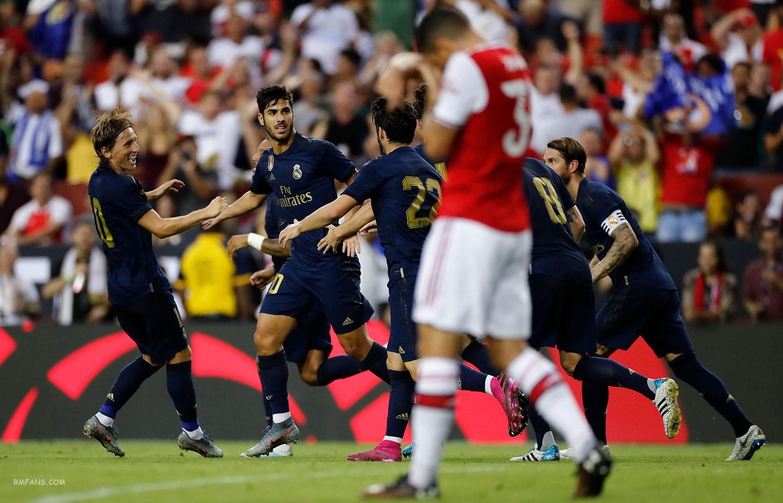 """组图 国际冠军杯 皇家马德里2-2阿森纳"""""""
