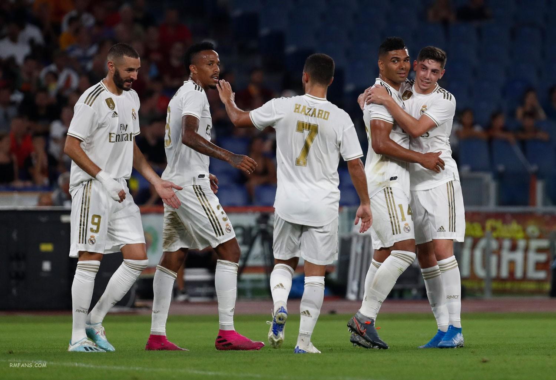 """组图 友谊赛 罗马2-2(5-4)皇家马德里"""""""