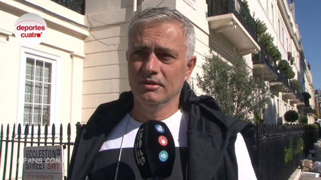 """穆里尼奥:我不能去执教一支拥有教练的球队"""""""