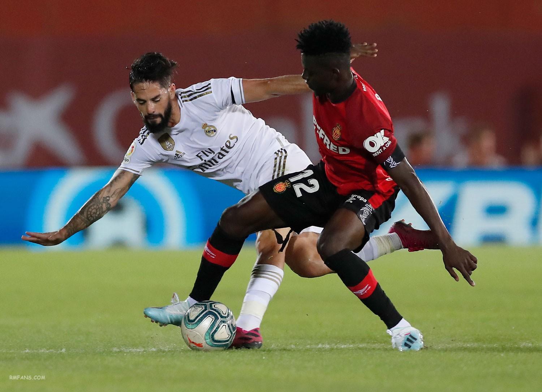 组图 西甲第九轮 马略卡1-0皇家马德里