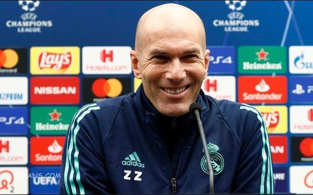 齐达内:这是欧冠联赛,我们永远争胜