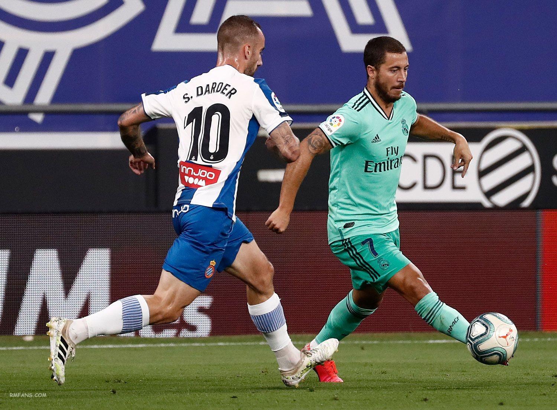 """组图 西甲第32轮 西班牙人0-1皇家马德里"""""""