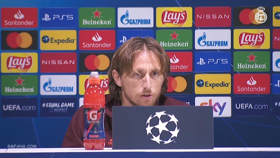 莫德里奇:我们将把比赛当做决赛来踢
