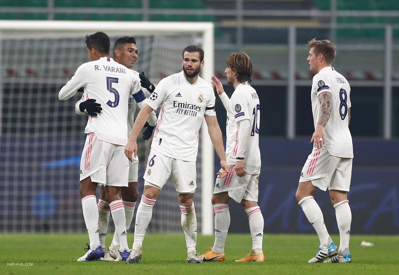 组图 欧冠小组赛 国际米兰0-2皇家马德里