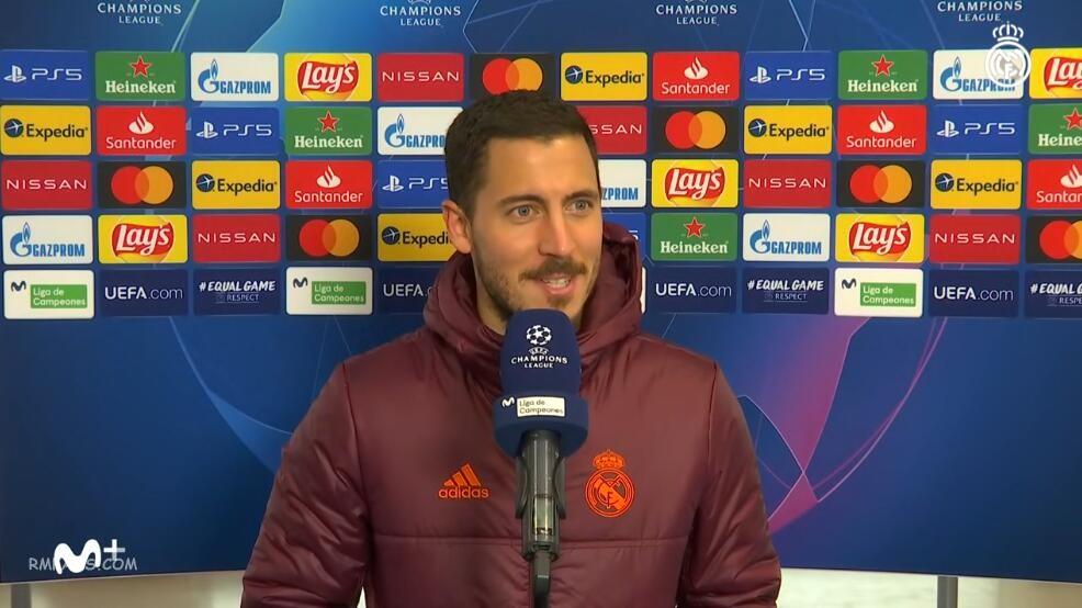 阿扎尔:重回球场让我更有信心