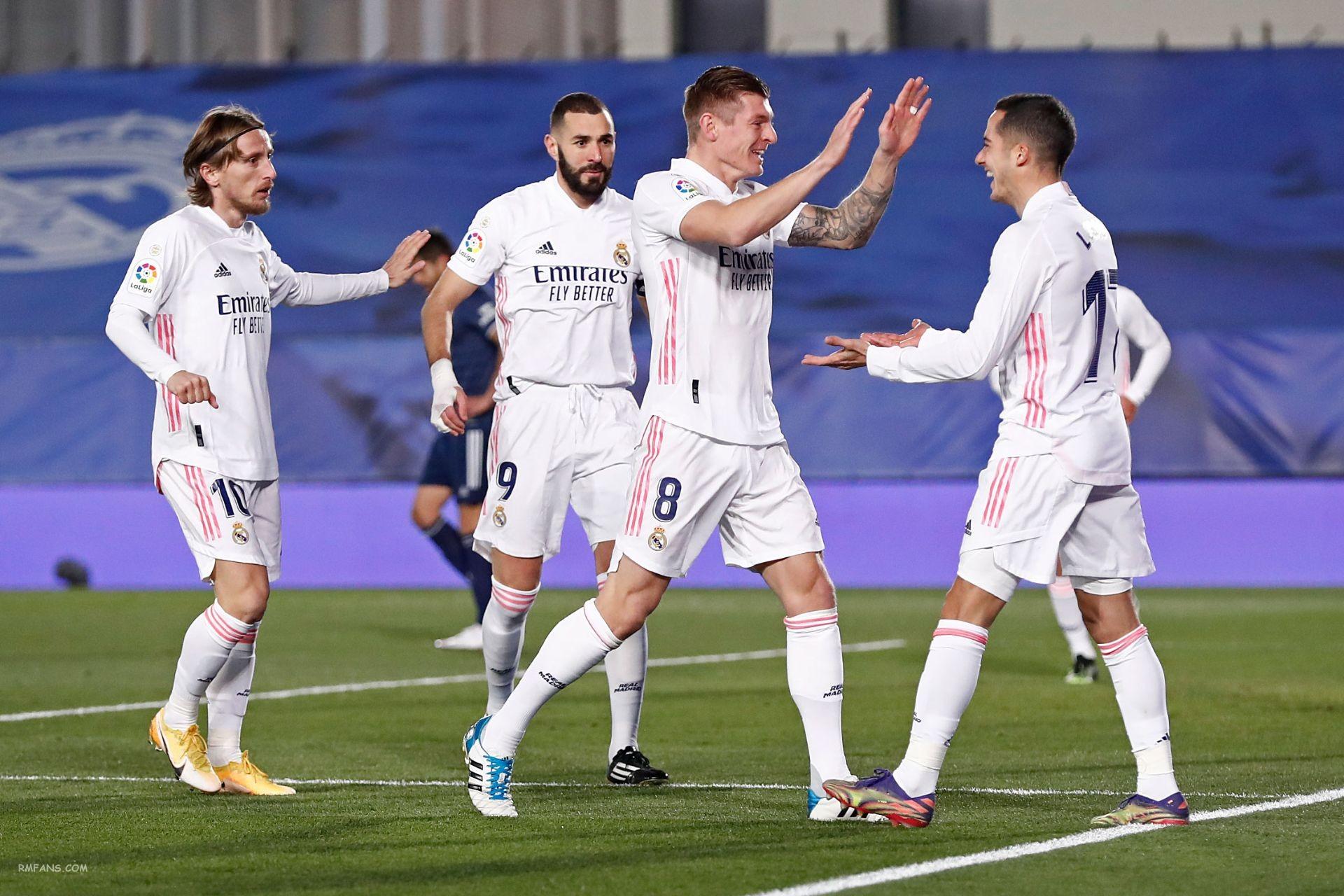 """组图 西甲第17轮 皇家马德里2-0塞尔塔"""""""