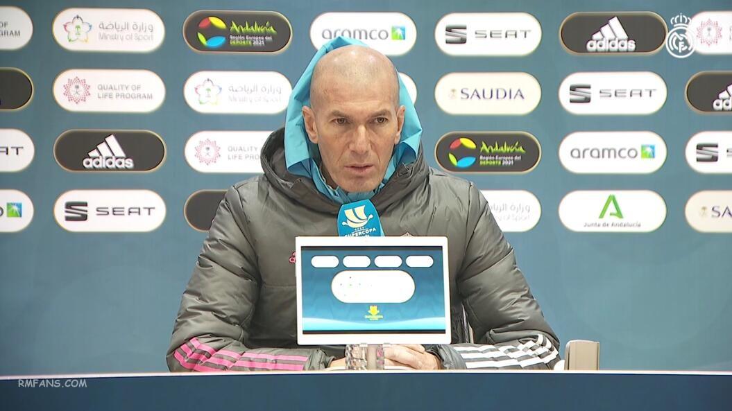 齐达内:我们期待在比赛中拿出出色表现
