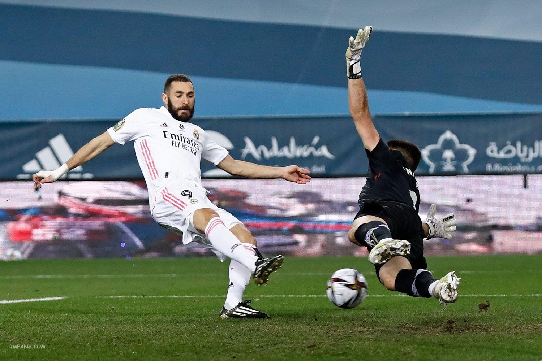 西班牙超级杯半决赛 皇家马德里VS毕尔巴鄂竞技 全场集锦