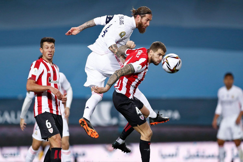 组图 西班牙超级杯半决赛 皇家马德里1-2毕尔巴鄂竞技