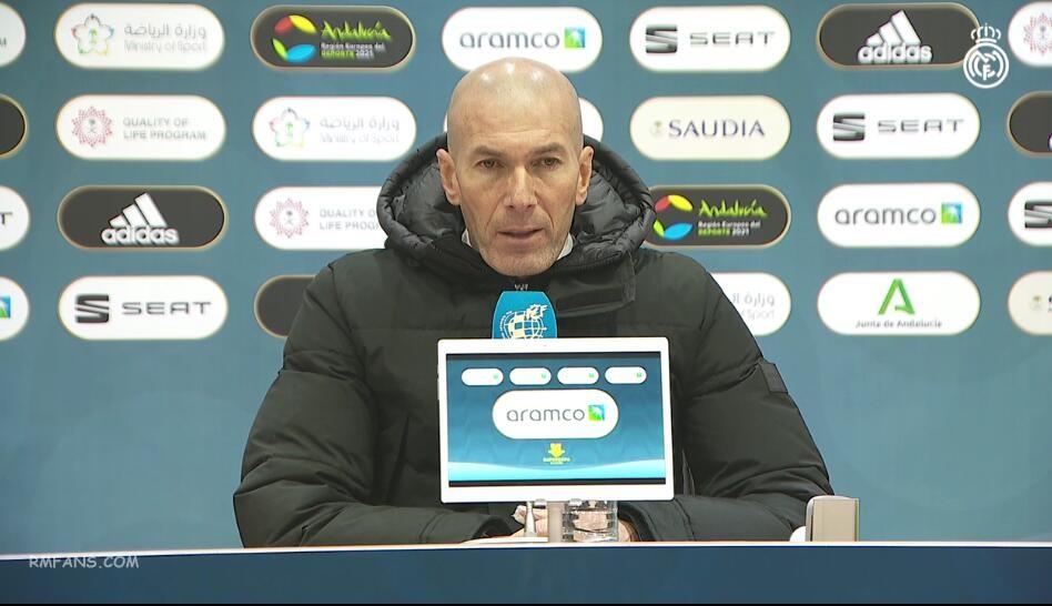 齐达内:比赛很复杂 没有球队可以永远赢球