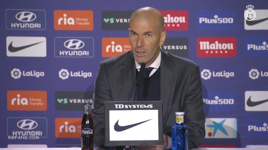 """齐达内:我们在联赛中仍具有竞争力"""""""