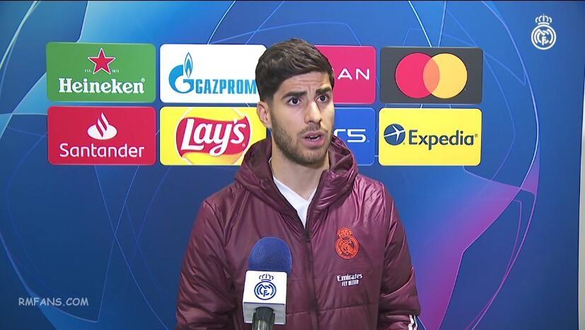 """阿森西奥:我为球队的出色状态感到高兴"""""""