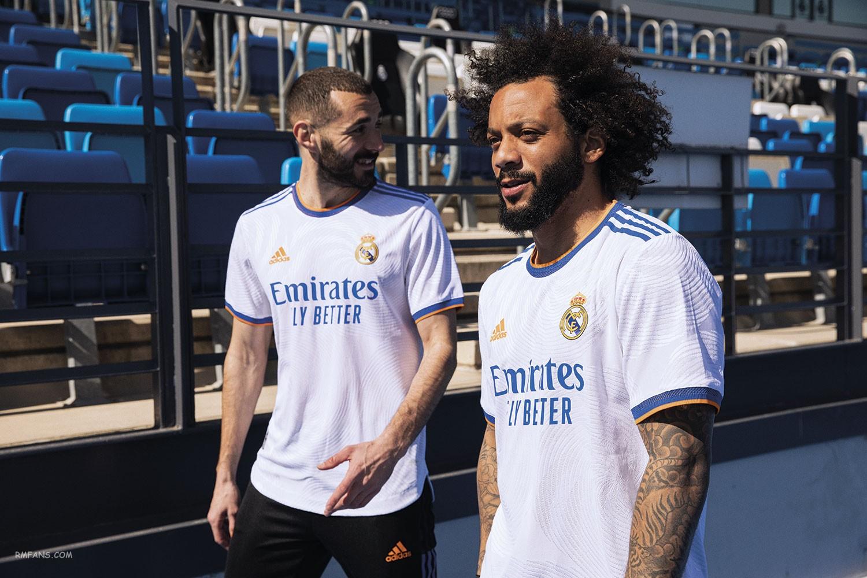 """皇家马德里公布2021-22赛季球衣"""""""