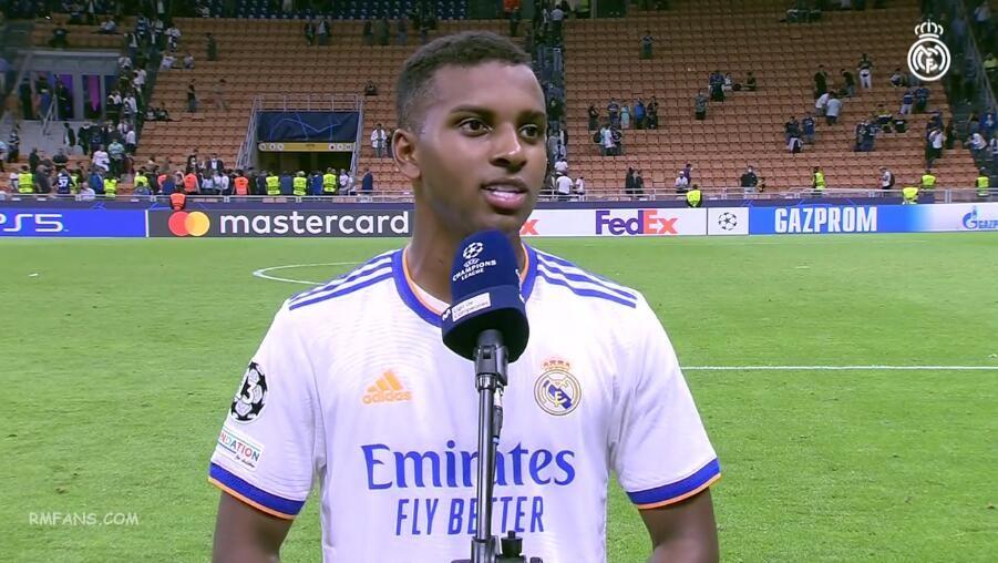 """罗德里戈:我喜欢在欧冠中进球"""""""