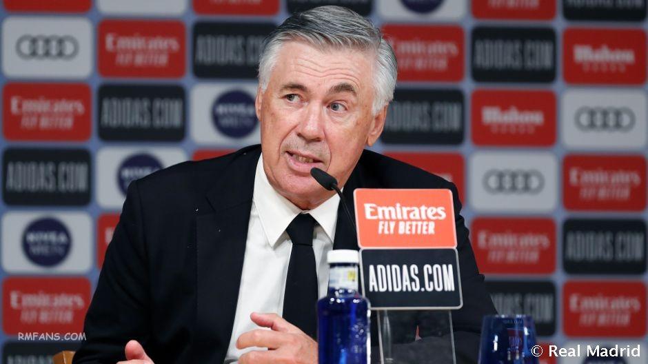 """安切洛蒂:重要的是球队继续保持积分榜领跑"""""""